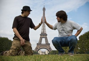 Tour Eiffel e illusioni ottiche