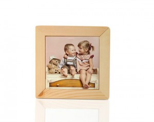 portatovaglioli in legno chiaro personalizzato