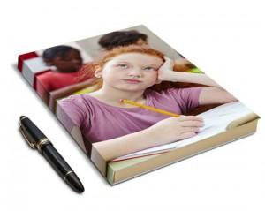 Diario personalizzato con foto bambina