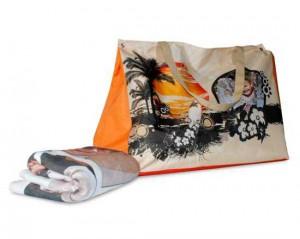Crea la tua borsa per il mare stampata con foto e grafiche