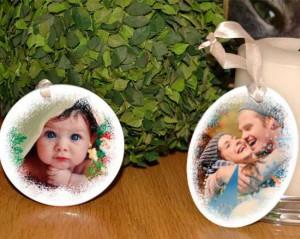 decorazioni natalizie in ceramica personalizzate