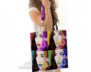 borsa shopping personalizzata con foto